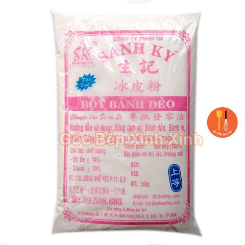 Bột bánh dẻo Sanh Ký đặc biệt 500g dùng làm vỏ và nhân / Bột nếp chín