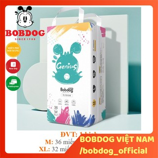 Bỉm Bobdog Genius siêu cấp Bỉm quần S24 M22 L20 XL18 miếng thumbnail