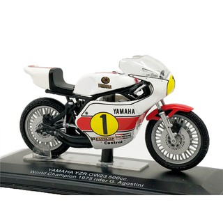 Italeri 1:22 Yamaha WC1975 #1 G.Agostini Diecast Model Motorcycle