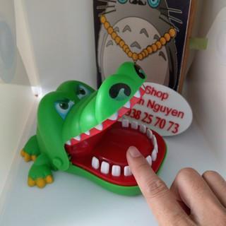 Trò chơi Cá Sấu khám răng loại lớn