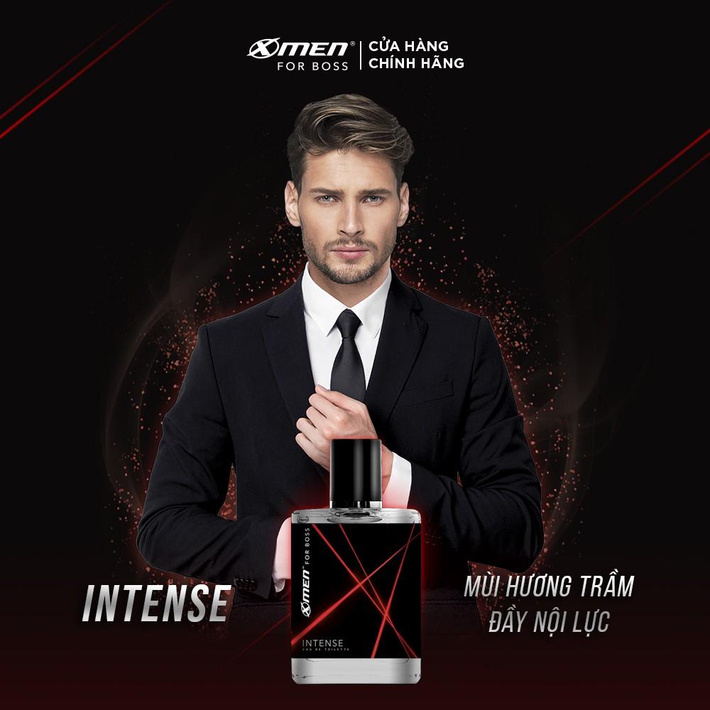 Nước hoa EDT X-Men for Boss Intense 49ml - Mùi hương trầm đầy nội lực