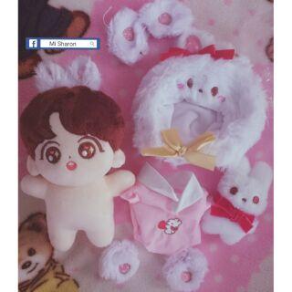 Fullset BTS doll Jungkook 15cm