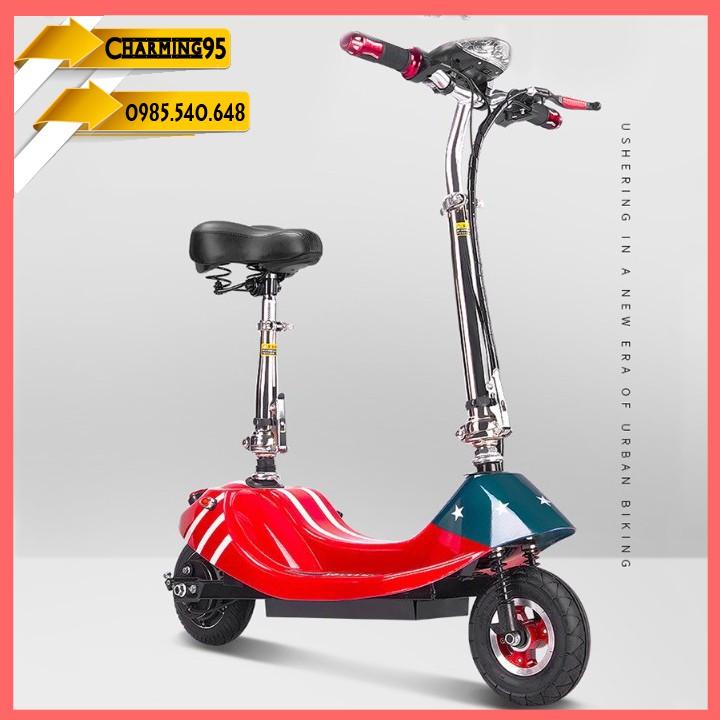 Xe scooter điện , xếp gọn, bánh 8' chạy 20>25km RE0456