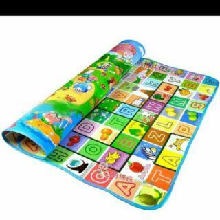 Thảm FREE SHIP Thảm xốp maboshi cho bé vừa học vừa chơi 1m6x2m thumbnail