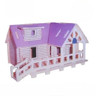 mô hình gỗ nhà house a