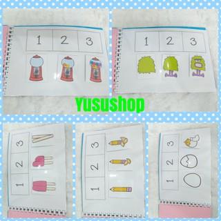 #yusushop – Bé học sắp xếp theo trình tự