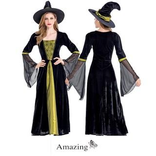Đầm Phù Thủy Halloween
