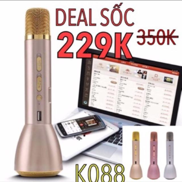 (GIẢM 40%) Mic hát karaok K088