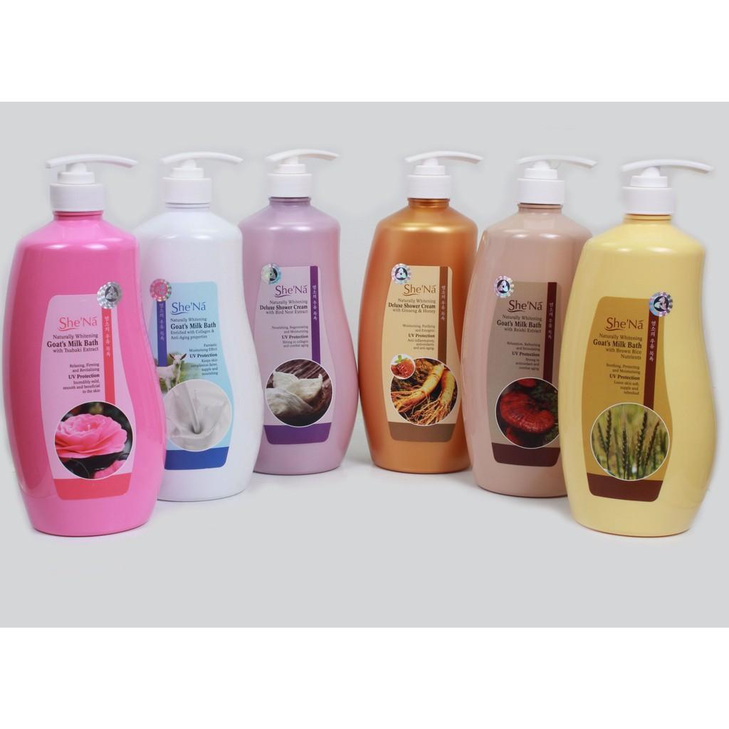 Sữa tắm SheNa 1200ml - Malaysia