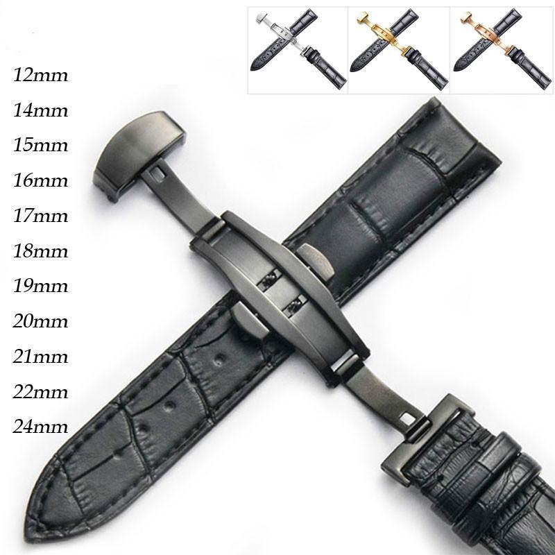 Dây Da Đồng Hồ Đeo Tay 20mm 22mm