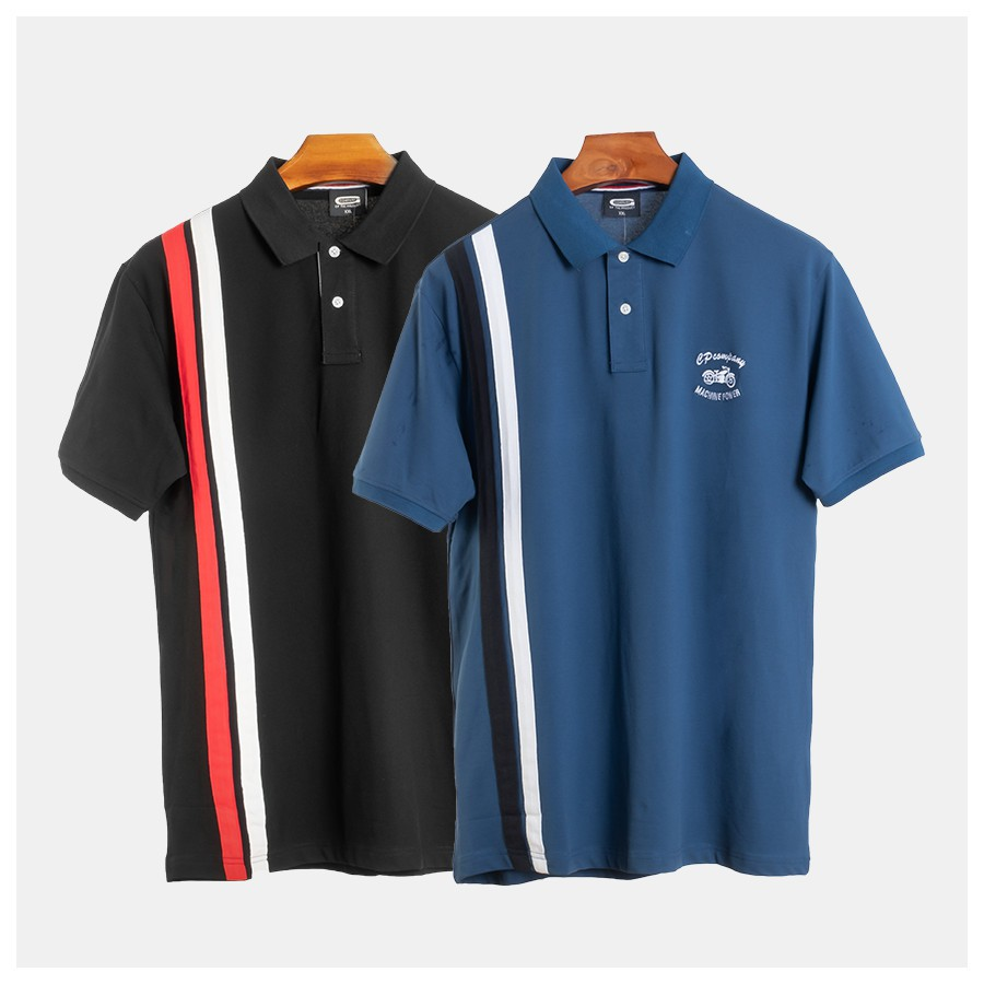 [𝐅𝐑𝐄𝐄𝐒𝐇𝐈𝐏] áo thun có cổ size lớn - áo polo big size 80-150kg ( hình thạt- hàng chất)