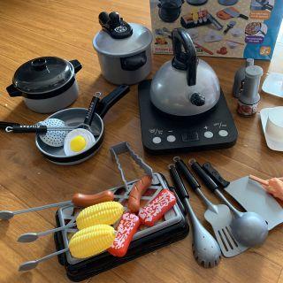 Bộ nấu ăn bếp từ Quà 1.6 cho bé (hàng có sẵn giao liền hcm )