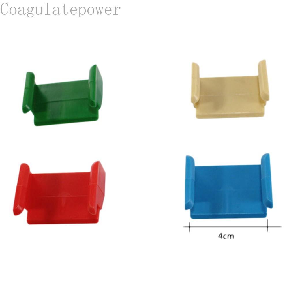 Coagulatepower 2 Pcs Plastic Track Train Railway Accessories Compatible All Major Brands
