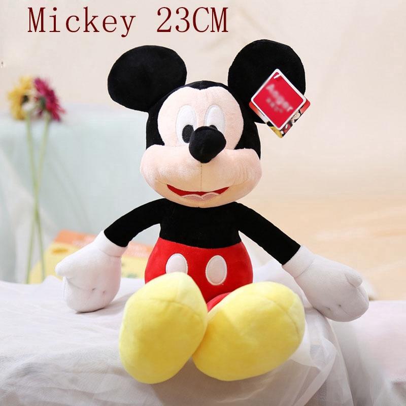 9 Inch Disney Mickey Minnie Mouse Doll Plush Toy Pooh Bear Doll