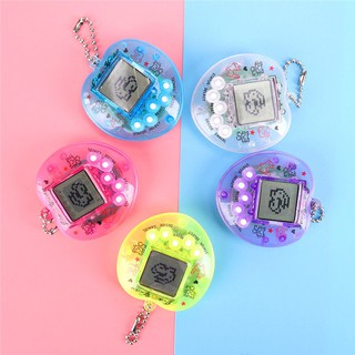 168 Pets in 1 Transparent Peach Design Virtual Cyber Funny Pet Gift Play Toy