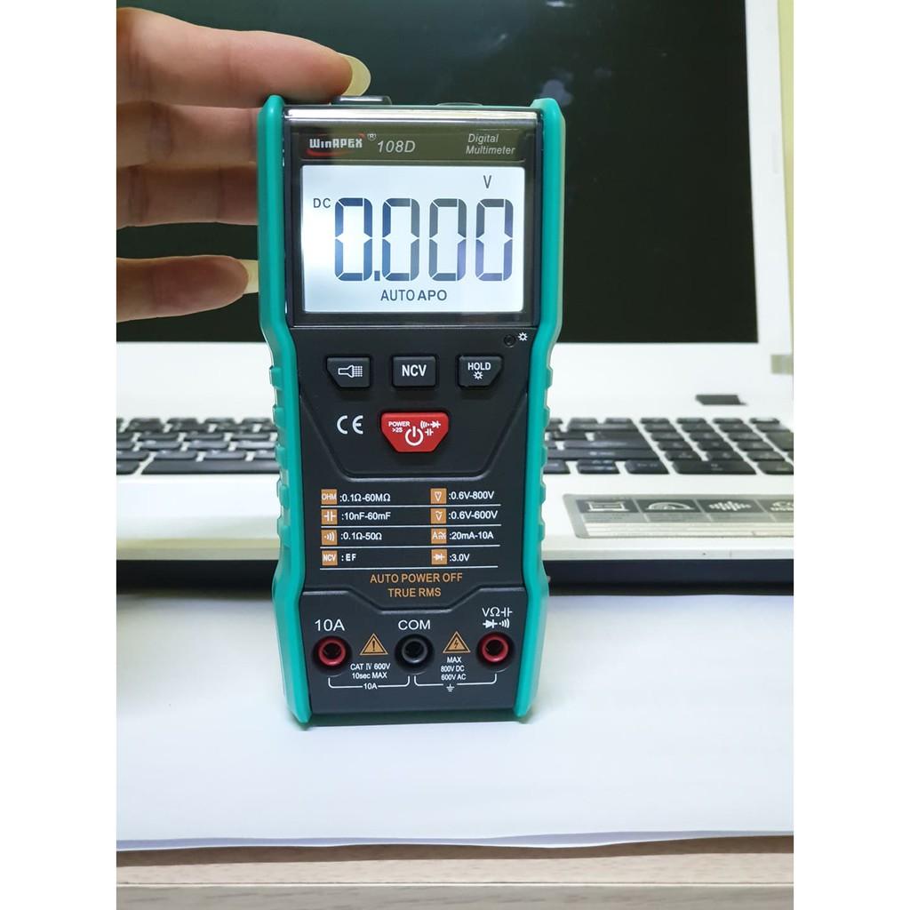 Đồng hồ vạn năng đa dụng WINAPEX  108D (ET8103)