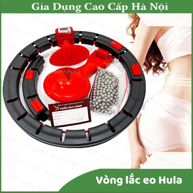 VÒNG LẮC EO THÔNG MINH HULA HOOP - Dụng cụ thể thao giảm mỡ bụng, điều hòa nhịp tim, massage cơ bụng – BIO 153