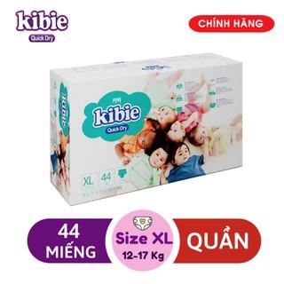 [MẪU MỚI] XL44 Bỉm Quần KIBIE Quick Dry - Tã Quần Cao Cấp Hàn Quốc Mềm Nhẹ Khô Thoáng Vượt Trội thumbnail