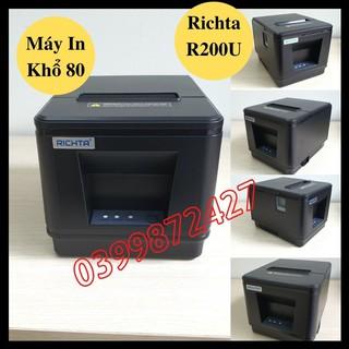 Máy in hóa đơn Nhiệt Richta R200 Khổ 80