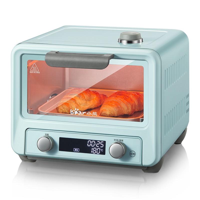 ๑◑Lò nướng điện gia dụng Bear hấp bánh đa năng mini loại nhỏ 15 lít chính hãng
