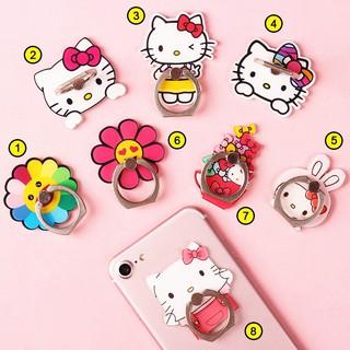 [Full hộp] Iring Giá Đỡ Điện Thoại Chiếc Nhẫn Hình Hello Kitty Xinh Xắn Bám Siêu Chắc thumbnail