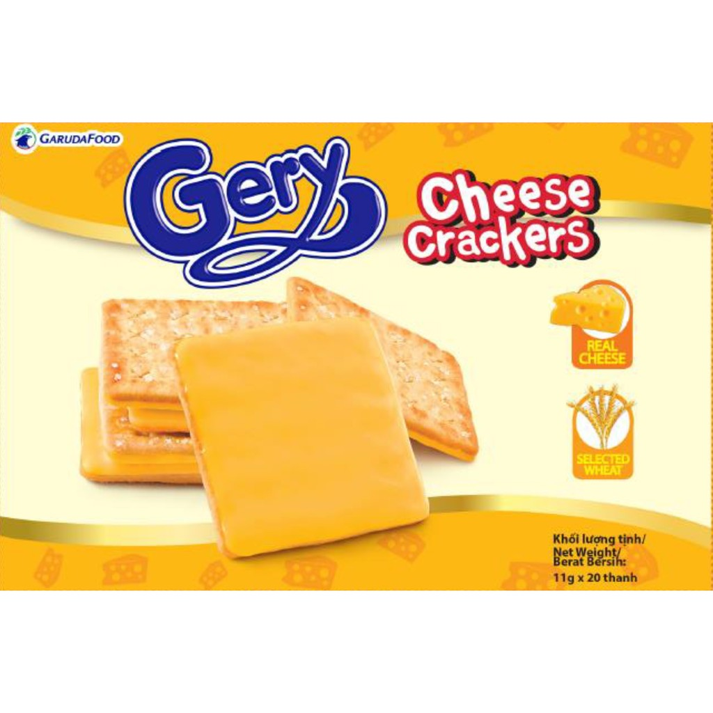 Combo 2 hộp bánh quy phô mai Gery Cheese Crackers 200g - 2458622 , 93778262 , 322_93778262 , 76000 , Combo-2-hop-banh-quy-pho-mai-Gery-Cheese-Crackers-200g-322_93778262 , shopee.vn , Combo 2 hộp bánh quy phô mai Gery Cheese Crackers 200g