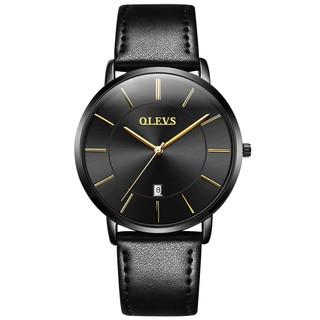 Đồng hồ đeo tay OLEVS bộ máy thạch anh Nhật Bản kháng nước thiết kế siêu mỏng thời trang cho cặp đôi
