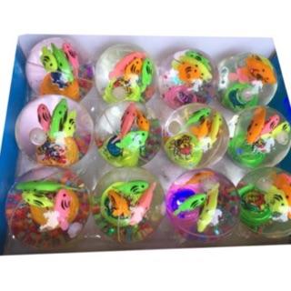 Hộp 12 quả bóng cá nảy phát sáng