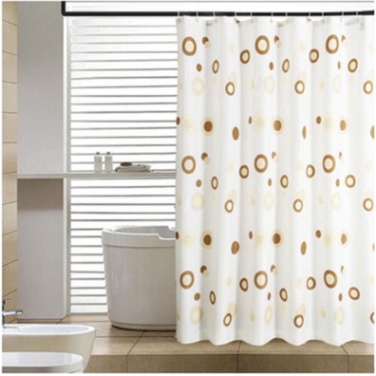 Rèm nhà tắm PEVA dài 2m không thấm nước ( 4 mẫu)