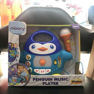 Đàn nhạc chim cánh cụt Winfun kèm mic hát