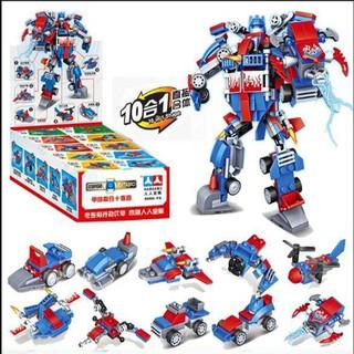 FULL SET ĐỒ CHƠI LẮP RÁP KIỂU LEGO 10 MÔ HÌNH XẾP HÌNH CHAOBAO A5628