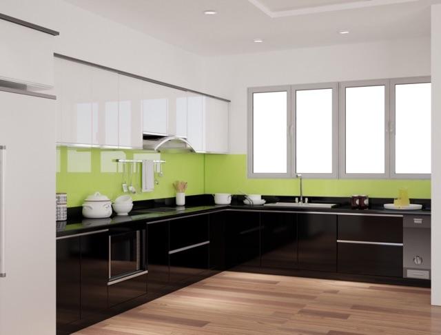 Bộ Tủ bếp inox 304 cao cấp cánh acrylic code picomat I