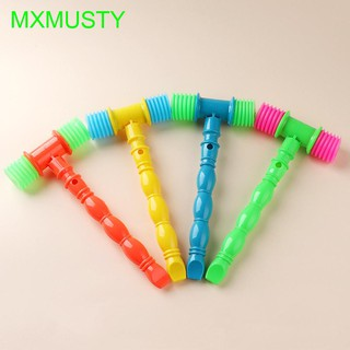 Whistles Lovely Hammer Shape Musical Instrument Vocal Knocking Educational Toy
