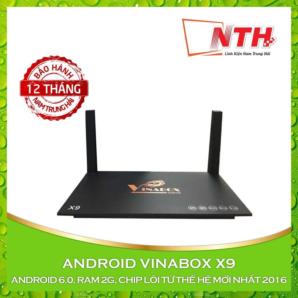 Android Tivi box Vinabox X9