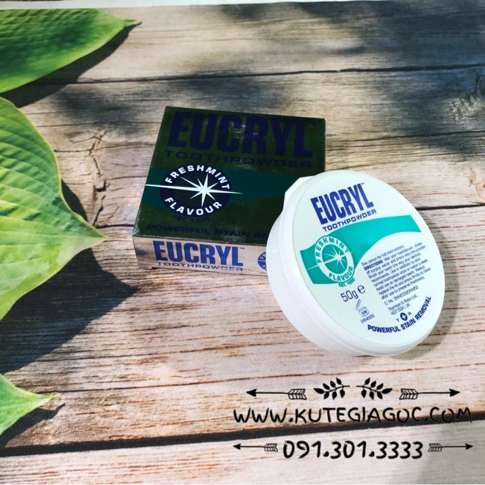 Bột đánh răng tẩy trắng răng Eucyl