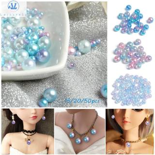 L1 15/20/50pcs Beautiful 3/4/5/8mm Handmade Accessory Earrings Earring Hairpin Girl Toys 1/6 Doll Accessories
