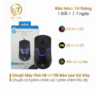 Chuột Máy Vi Tính Có Dây HP M100 Chuột Laptop PC Đèn LED Có Dây - OHNO Việt Nam thumbnail