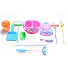 ♛♚♛US Kids Baby Housekeeping Cleaning Play Set Girls Funny Home Educational Toys