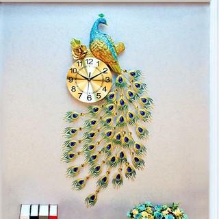 Đồng hồ trang trí công hoa mai loại 1