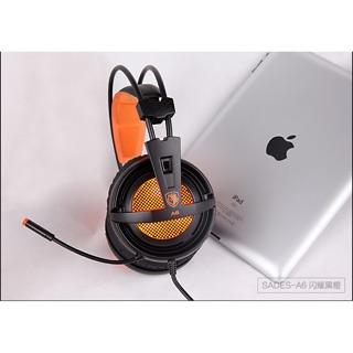[Mã ELMSBC giảm 8% đơn 300k] [Freeship toàn quốc từ 50k] Tai nghe chuyên game Sades A6 cổng USB Giả lập âm thanh 7.1