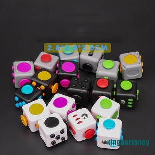 XYCC Ralix Fidget Cube Toy Anxiety Stress Relief Focus Attention Work Puzzle XJSS