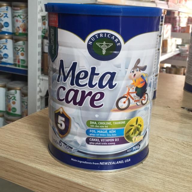 Sữa Meta care 5(900g) dành cho trẻ từ 6 tuổi trở lên Date 2020