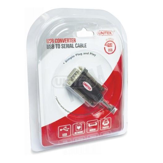Cáp chuyển đổi USB sang COM UNITEK (Y-105)