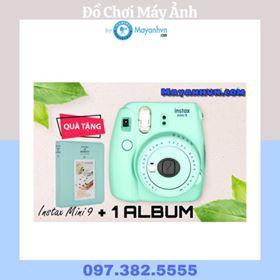 Combo Máy ảnh Fujifilm Instax mini 9 + 1 Album