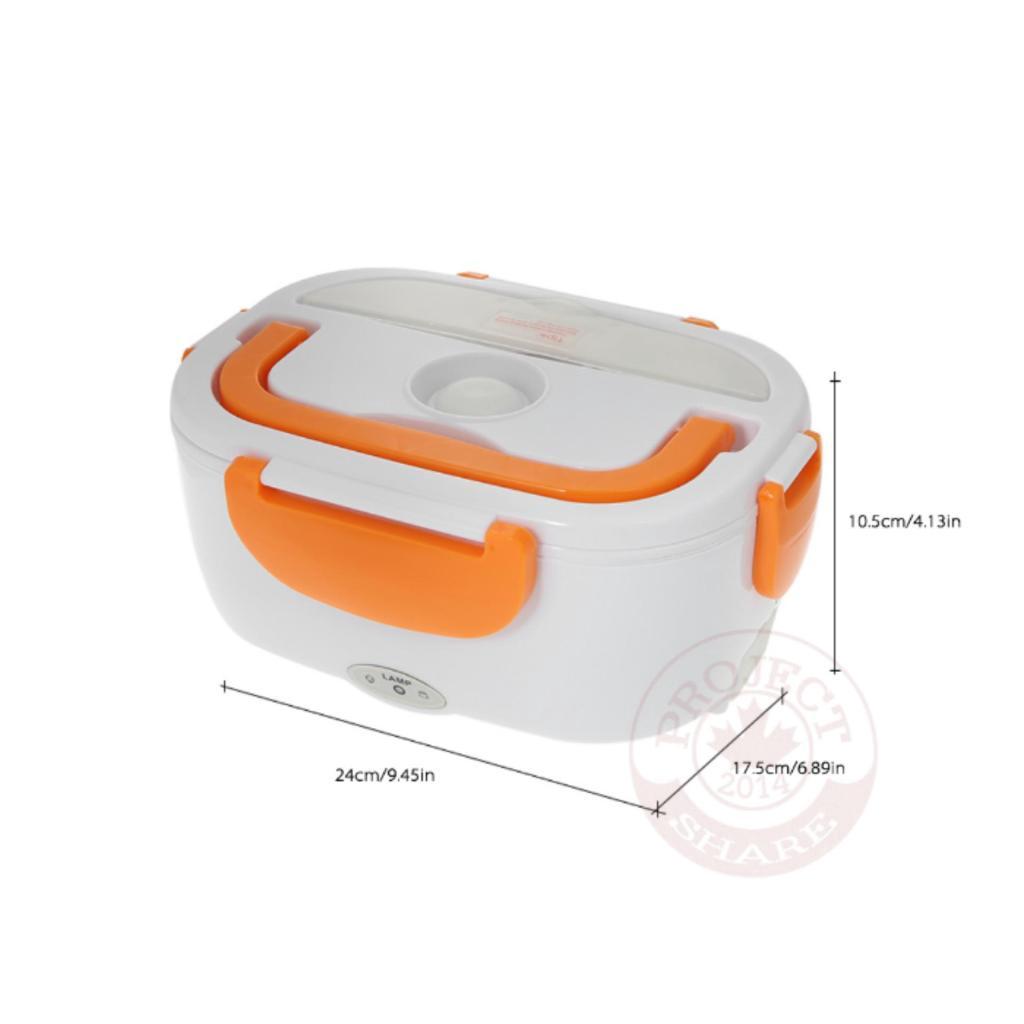 เครื่องใช้ไฟฟ้า กล่องอุ่นอาหารอัตโนมัติ Electric Lunch Box (สีฟ้า)ครื่องใช้ไฟฟ้า กล่องอุ่นอาหารอัตโนมัติ Electric Lunch