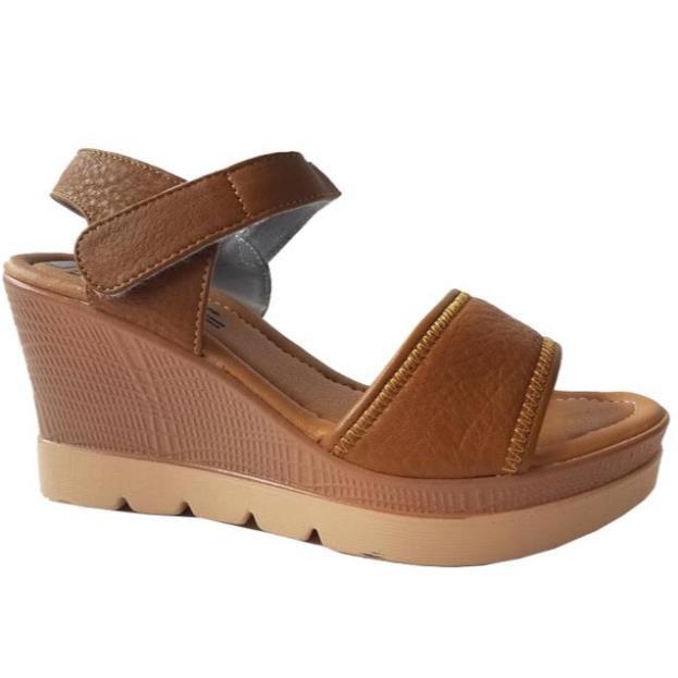 Giày sandal xuồng BIGGBEN da bò thật HKD073 _h911 .