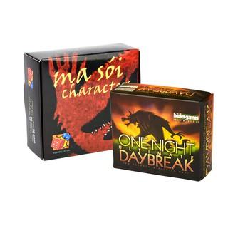 Trò chơi Board Game – Combo bài Ma Sói Characters & Ma Sói Daybreak Cao Cấp – EtoysVN – No.1 Board Game