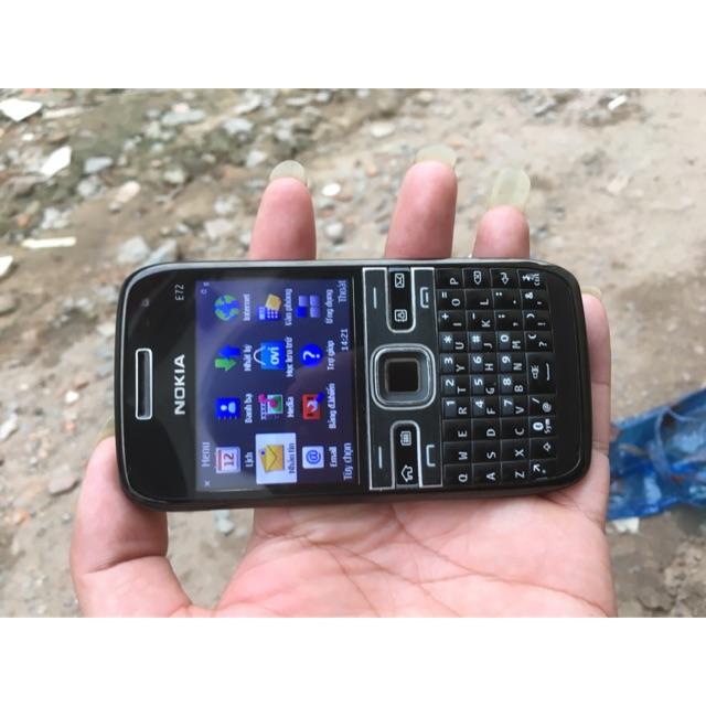 Nokia e72 đen mới 98%