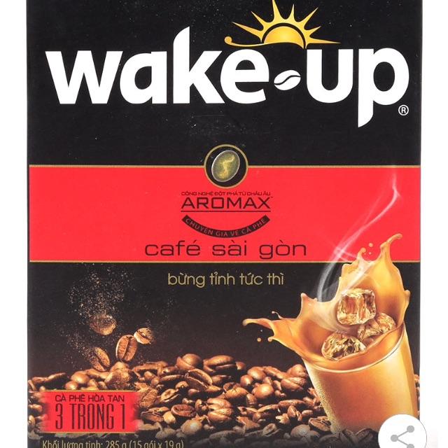 Cà Phê Sữa Hòa Tan Wake Up 3 Trong 1 - 2538727 , 855626698 , 322_855626698 , 40000 , Ca-Phe-Sua-Hoa-Tan-Wake-Up-3-Trong-1-322_855626698 , shopee.vn , Cà Phê Sữa Hòa Tan Wake Up 3 Trong 1