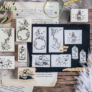 Con dấu gỗ Hoàng Tử Bé (Le Petit Prince)